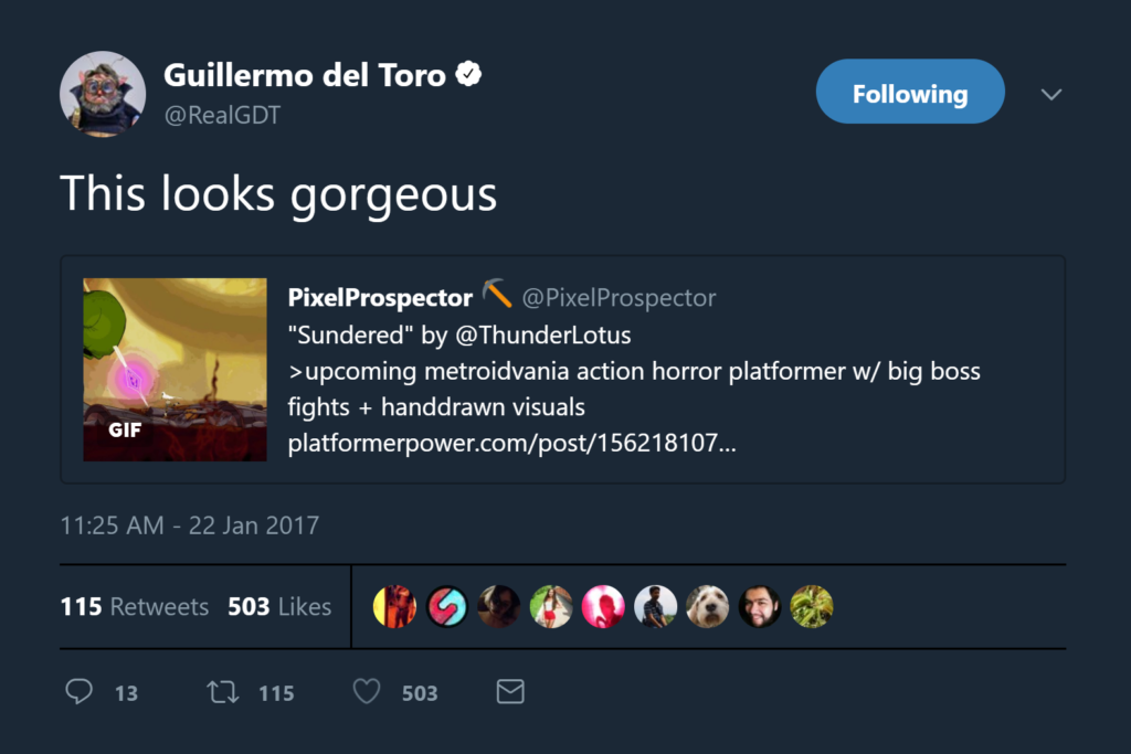 Why thank you, Guillermo!