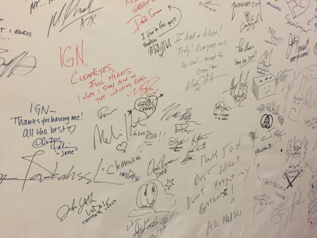 IGN's wall of fame
