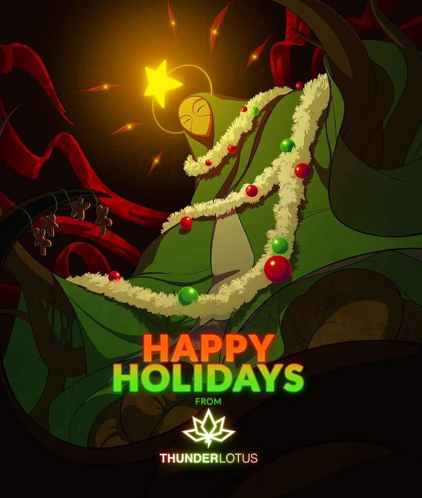 Happy Holidays from Thunder Lotus!